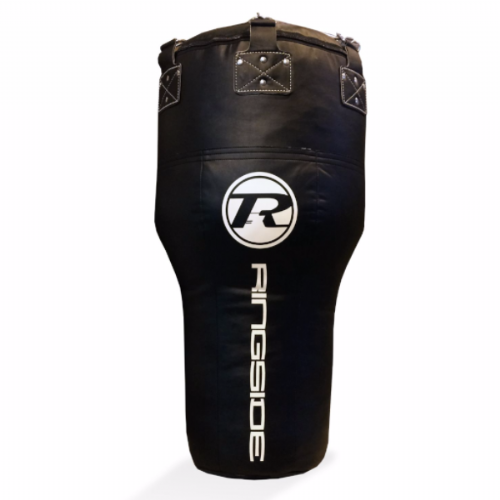 Ringside Synthetic Leather Angle Punchbag - Black